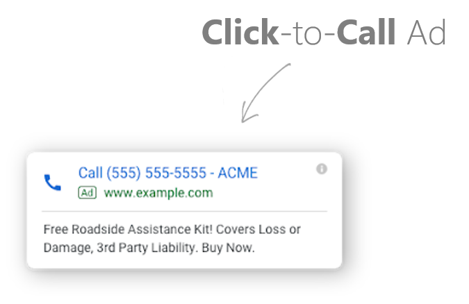 SEM SEO Specialist Click-to-Call Ad Direct Connection