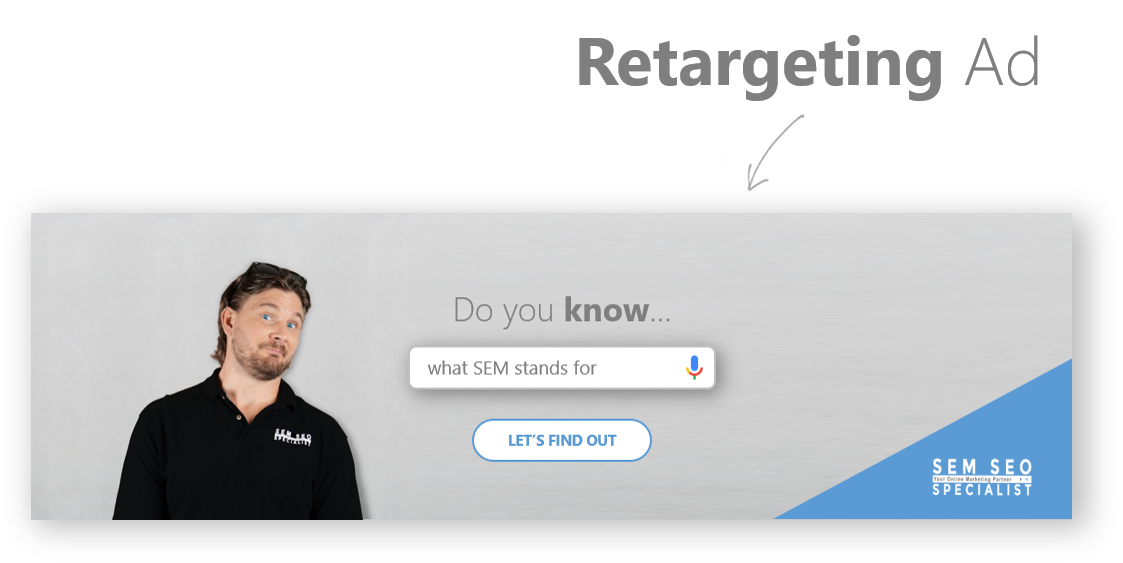 SEM SEO Specialist Image and Retargeting Ads What is a Retargeting Ad