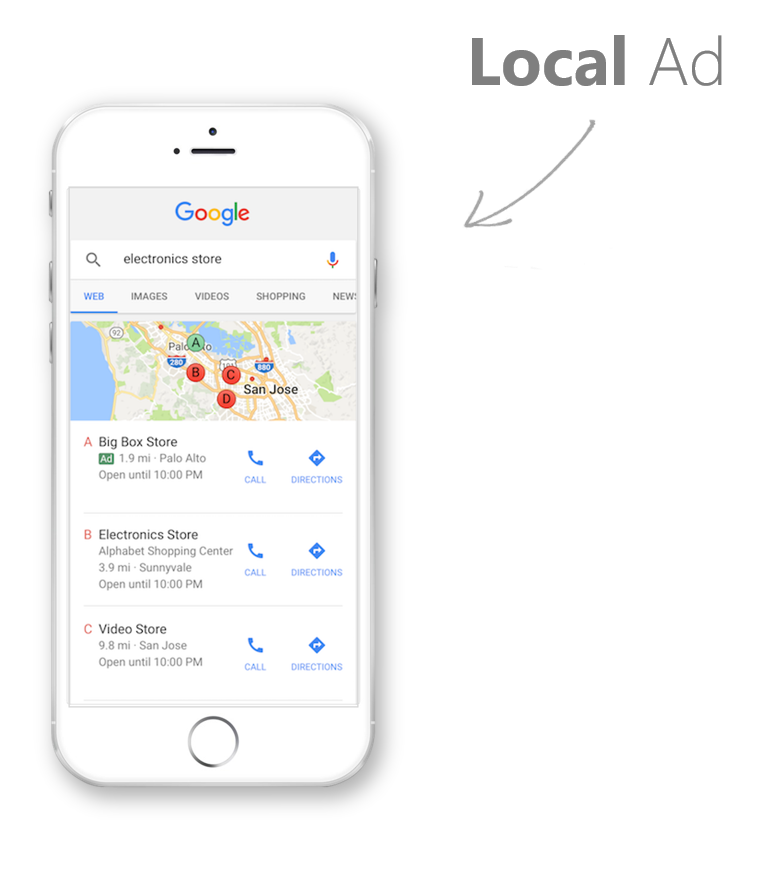 SEM SEO Specialist Local Ads Gain Loca Foot Traffic