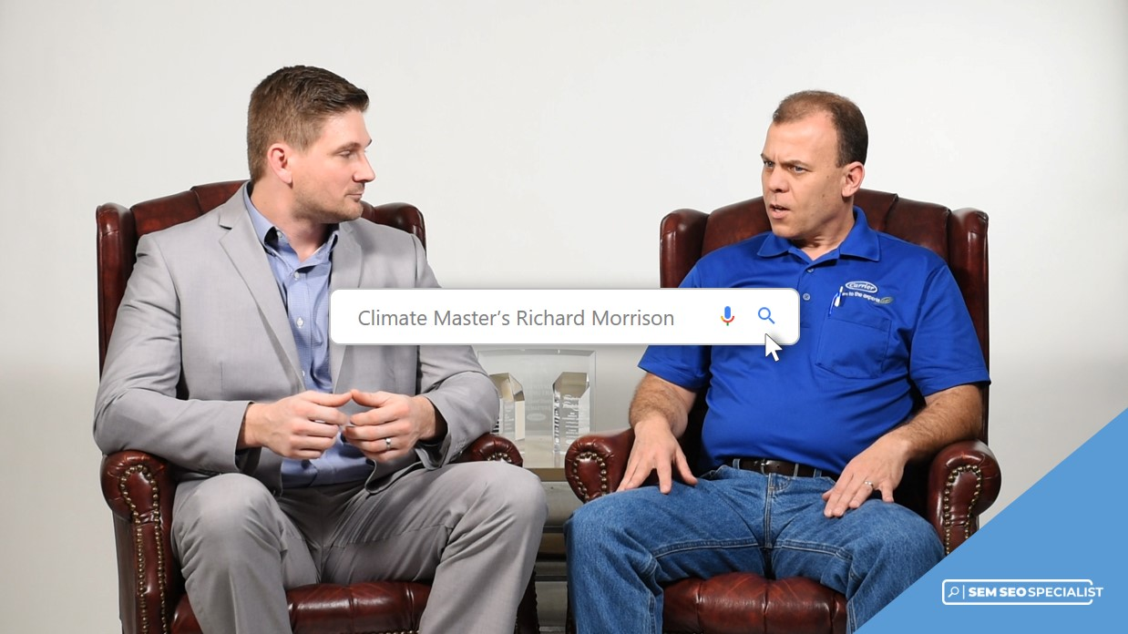 SEM SEO Specialist Online Interview Climate Masters' Richard Morrison
